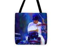 Load image into Gallery viewer, Drummer Painting - Tote Bag