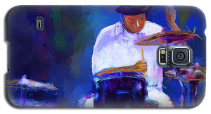 Drummer Painting - Phone Case