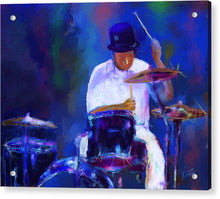 Load image into Gallery viewer, Drummer Painting - Acrylic Print