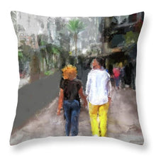 Load image into Gallery viewer, Romantic Couple - Throw Pillow