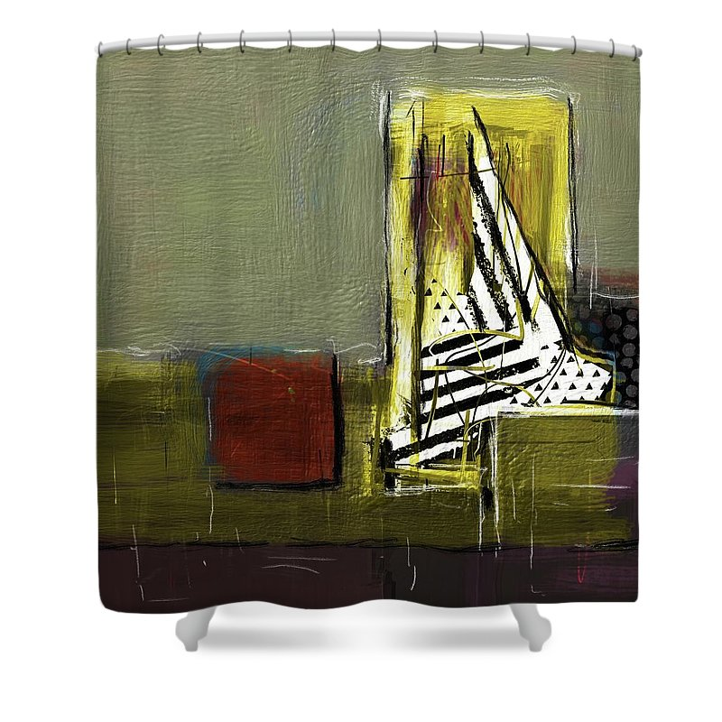 Sailing In Dreams - Shower Curtain