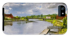 Load image into Gallery viewer, Saint John River Painting - Phone Case