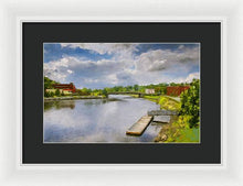 Load image into Gallery viewer, Saint John River Painting - Framed Print