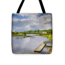 Load image into Gallery viewer, Saint John River Painting - Tote Bag