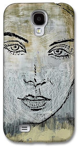 Shades Of Grey And Beige - Phone Case