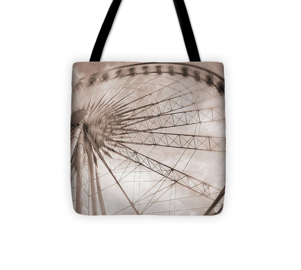 SkyWheel in Niagara Falls - Tote Bag