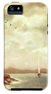 Solitary Sailor - Phone Case