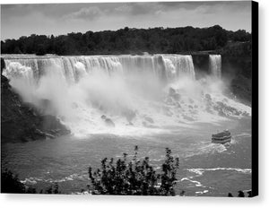 The American Falls - Canvas Print