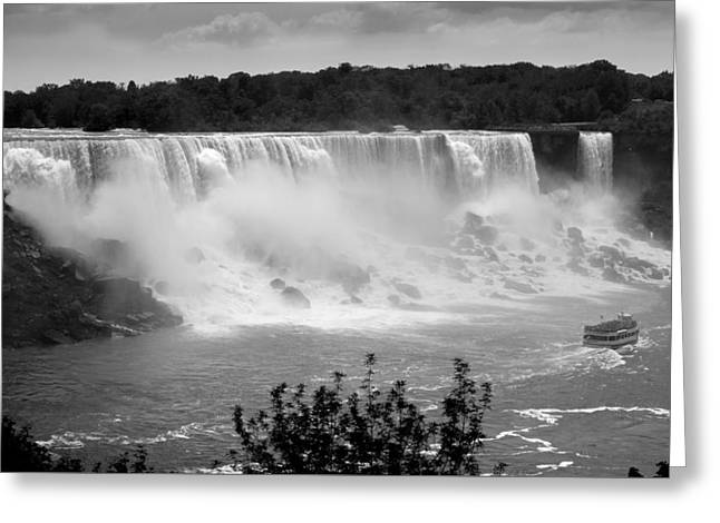The American Falls - Greeting Card