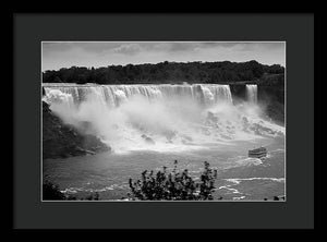 The American Falls - Framed Print