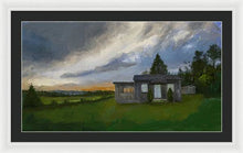 Load image into Gallery viewer, The Cabin On The Hill - Framed Print