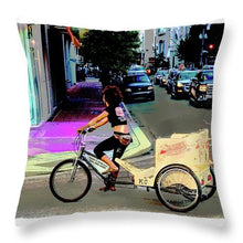 Load image into Gallery viewer, The Flavor Of Festival Season - Throw Pillow