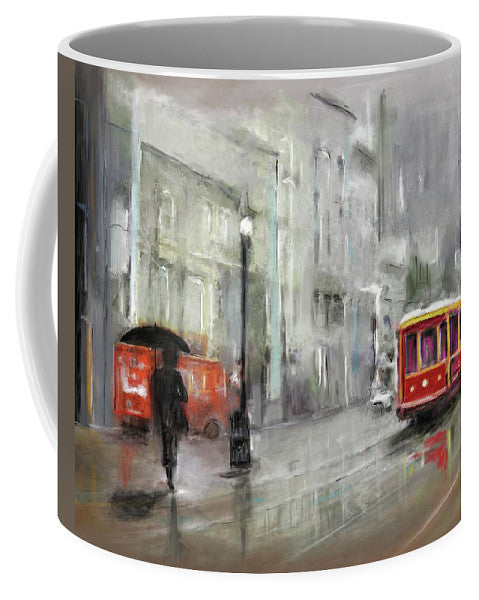 The Woman In The Rain - Mug