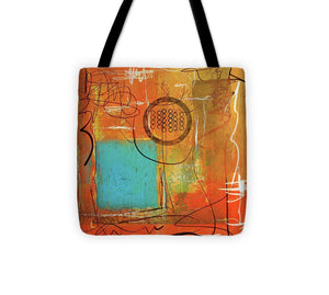 Theory Of Orange - Tote Bag