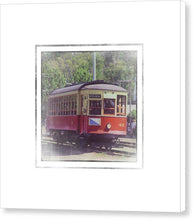 Load image into Gallery viewer, Trolley Car 42 - Canvas Print