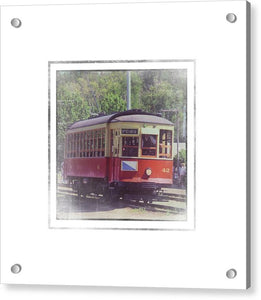 Trolley Car 42 - Acrylic Print