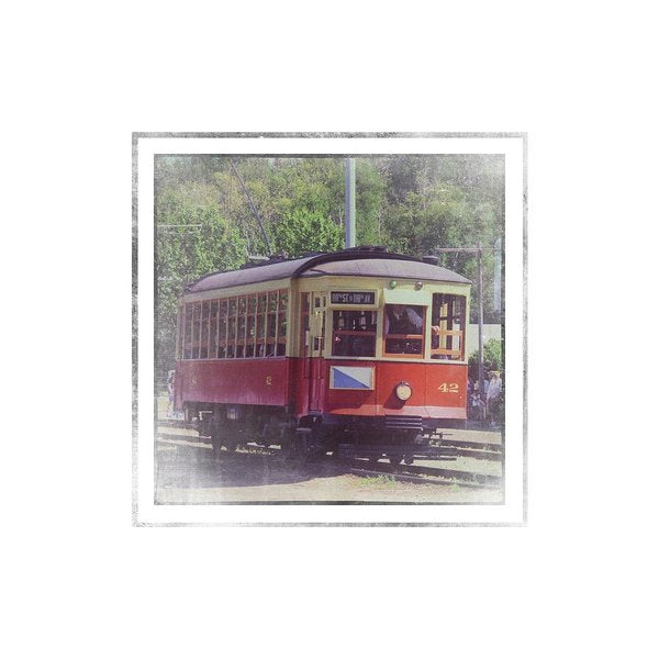 Trolley Car 42 - Art Print