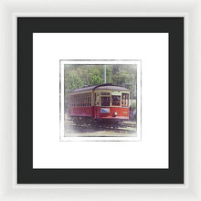 Load image into Gallery viewer, Trolley Car 42 - Framed Print