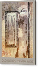 Load image into Gallery viewer, Vintage Door 1 - Acrylic Print