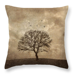 Winter Afternoon - Throw Pillow