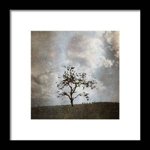Winter Evening - Framed Print