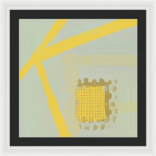 Load image into Gallery viewer, Yellow Kay - Framed Print