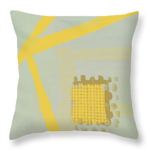 Yellow Kay - Throw Pillow