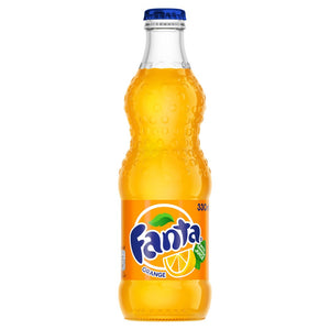 FANTA ORANGE 0,33l FLASKE (24PK)