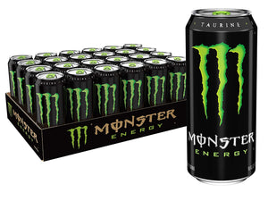 MONSTER ENERGY ORIGINAL 0,5L (24PK) 30kr. per stk