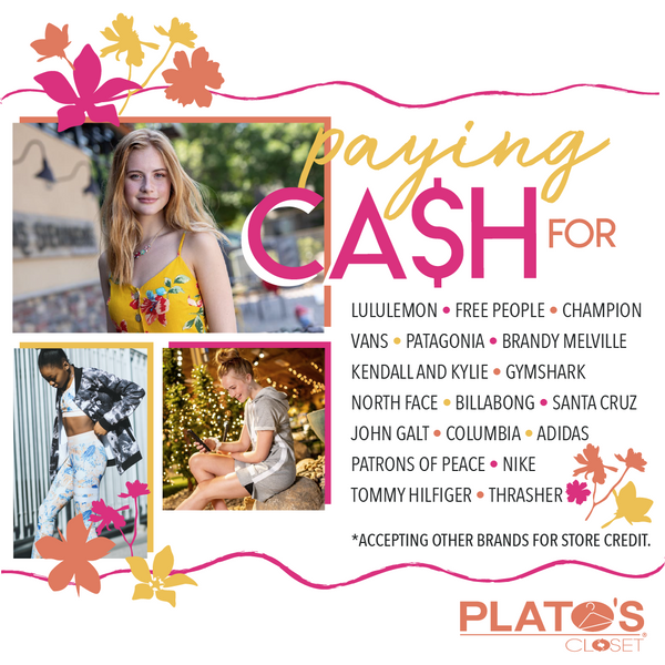 Paying cash for select brands