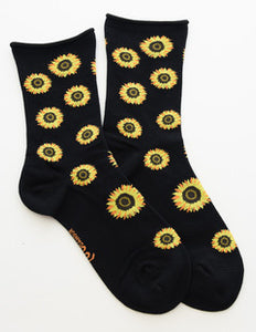 Loulou Damour Sunflower Socks - 3 pack