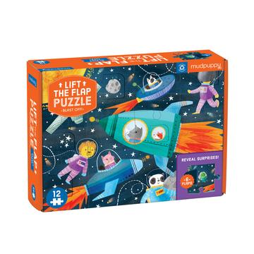 Lift the Flap Puzzle - Blast Off!