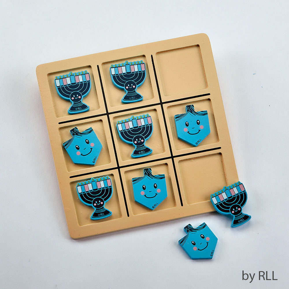 Chanukkah Tic Tac Toe