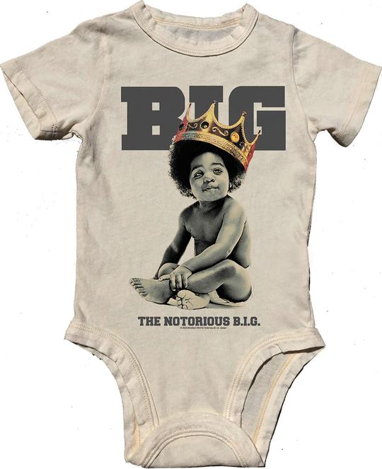 Rowdy Sprout Notorious B.I.G. Onesie