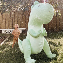 Load image into Gallery viewer, Giant Dino Inflatable Sprinkler