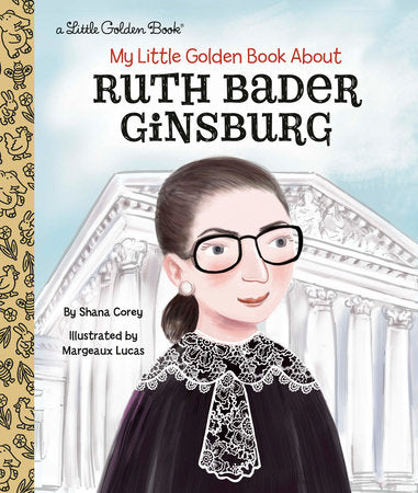 My Little Golden Book - Ruth Bader Ginsburg