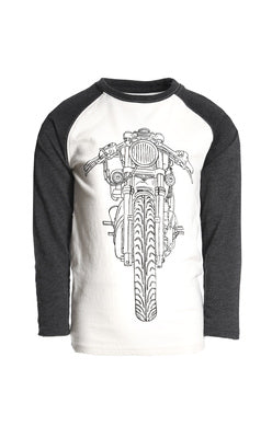 Appaman Graphic Raglan Long Sleeve Tee