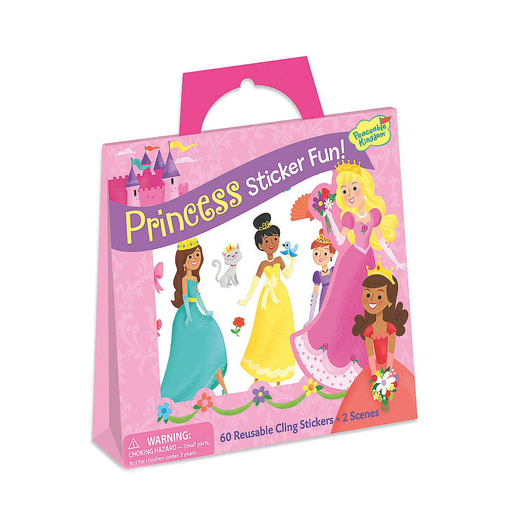 Princess Sticker Tote