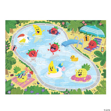 Load image into Gallery viewer, Scratch & Sniff Puzzle:  Fruity Pool Party