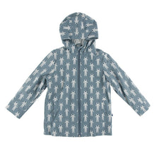 Load image into Gallery viewer, Kickee Printed Lined Raincoat