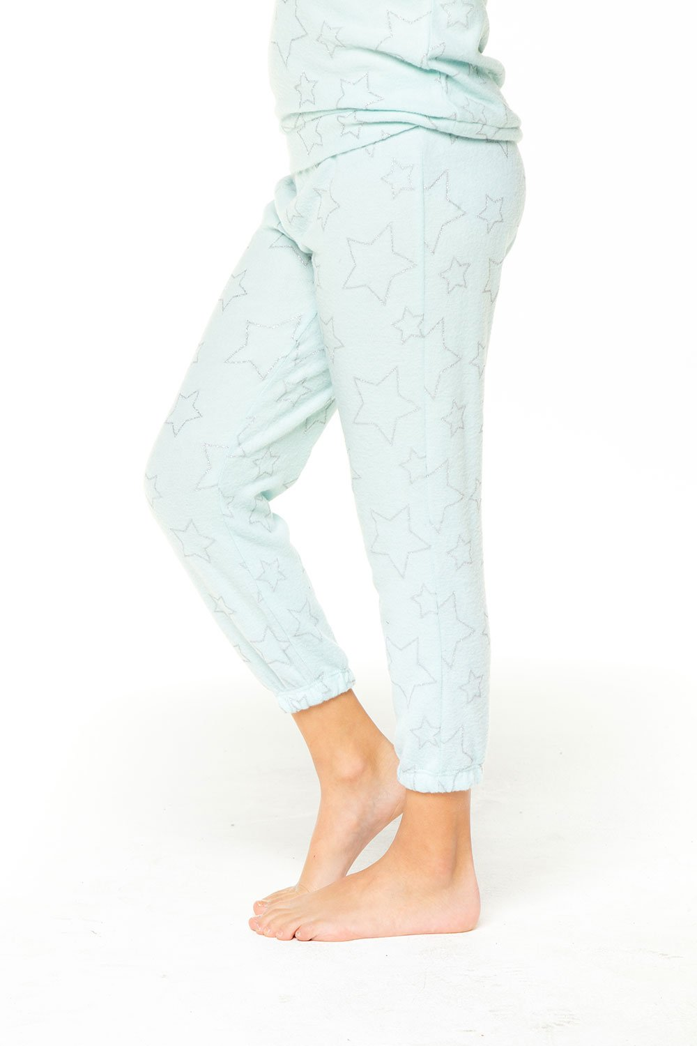 Chaser Silver Stars Sweatpants