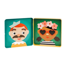 Load image into Gallery viewer, Magnetic Play Set - Funny Faces