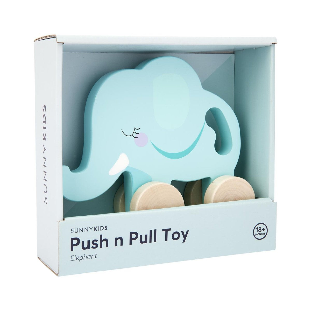 Elephant Push and Pull Toy