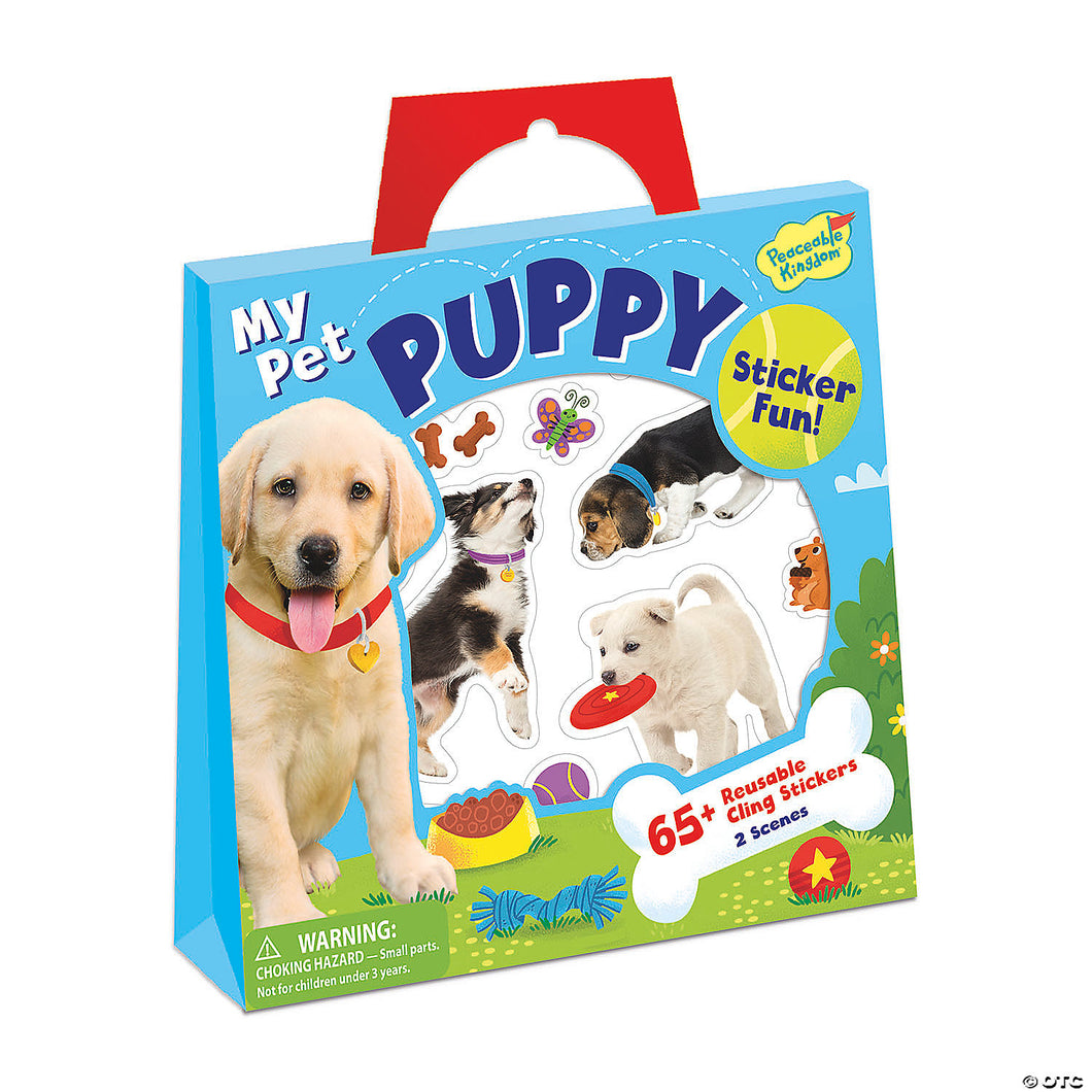 My Pet Puppy Sticker Tote