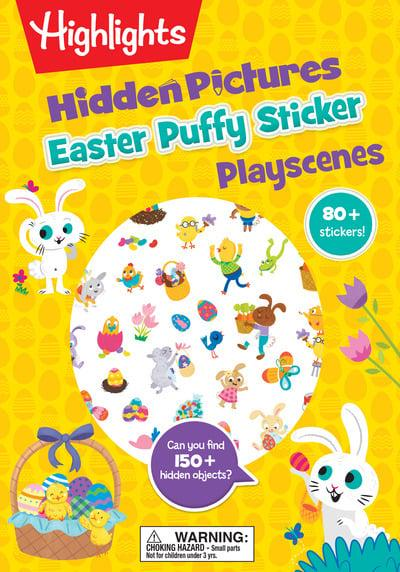 Easter Highlights Puffy Sticker Playscenes