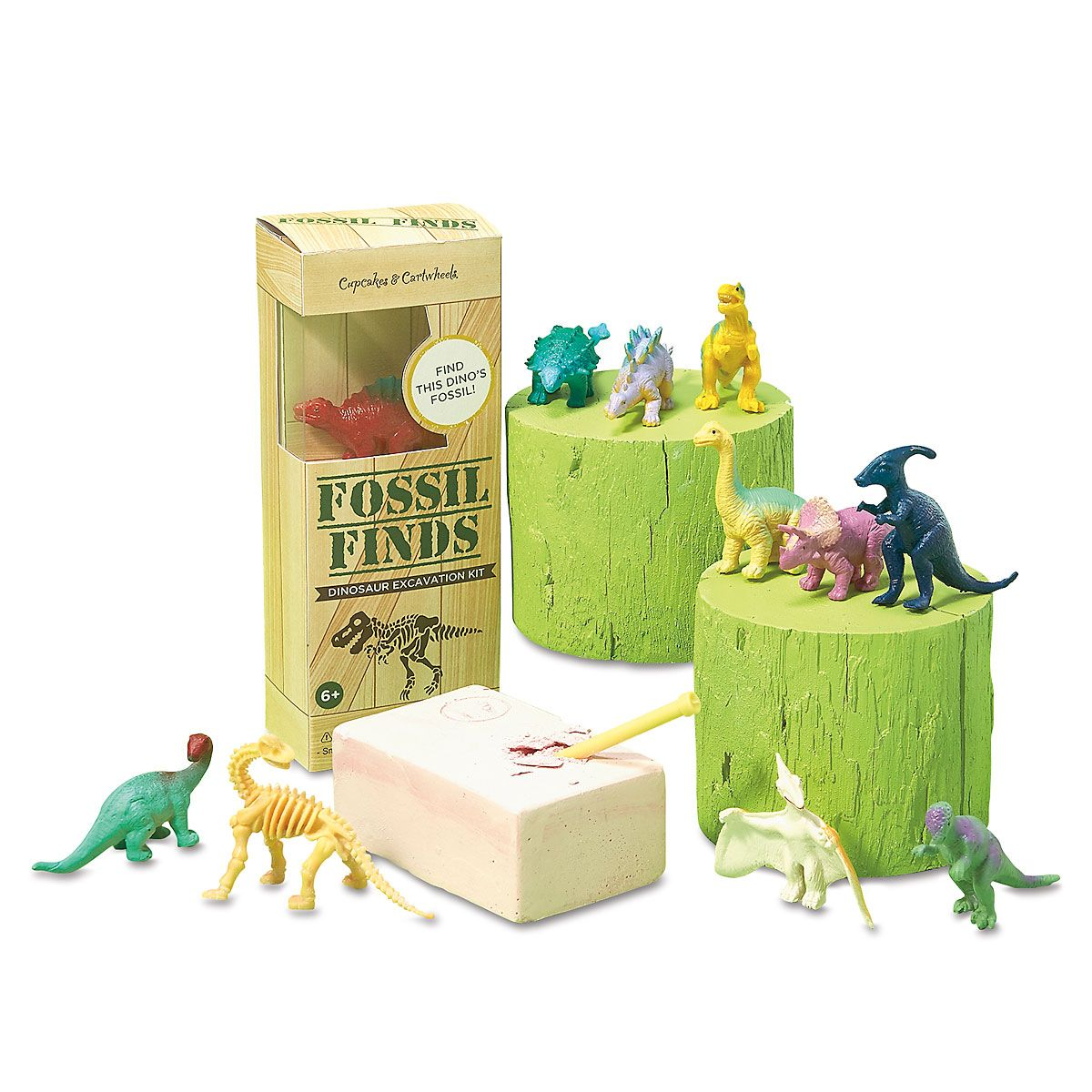 Fossil Finds - Dino Excavation Set