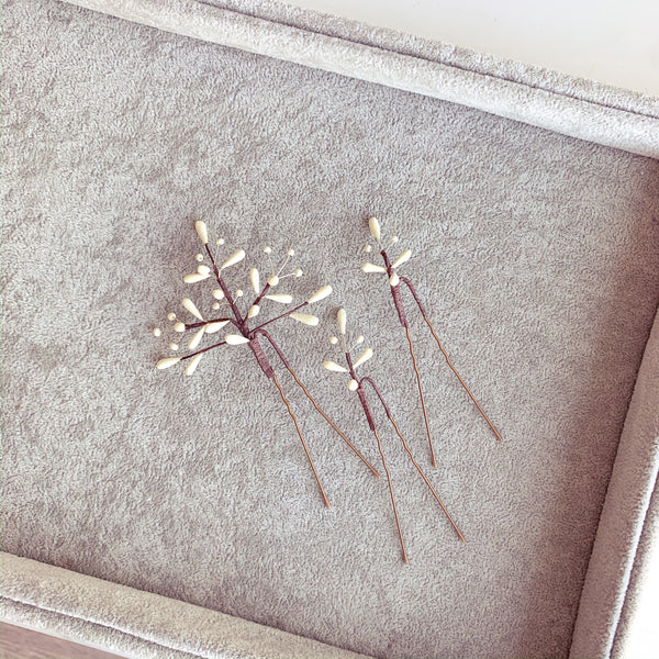 Frenchie Bride Hair pins
