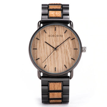 Montre en Bois •  Solitude • 43mm