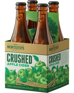 Monteith's Apple Cider 4 pack