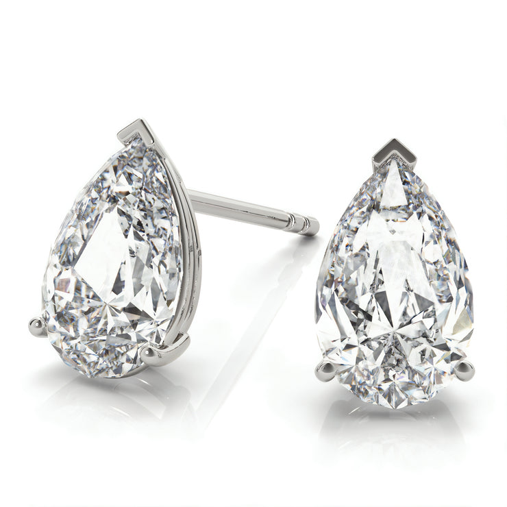 Beauchamp Pear Stud Earrings